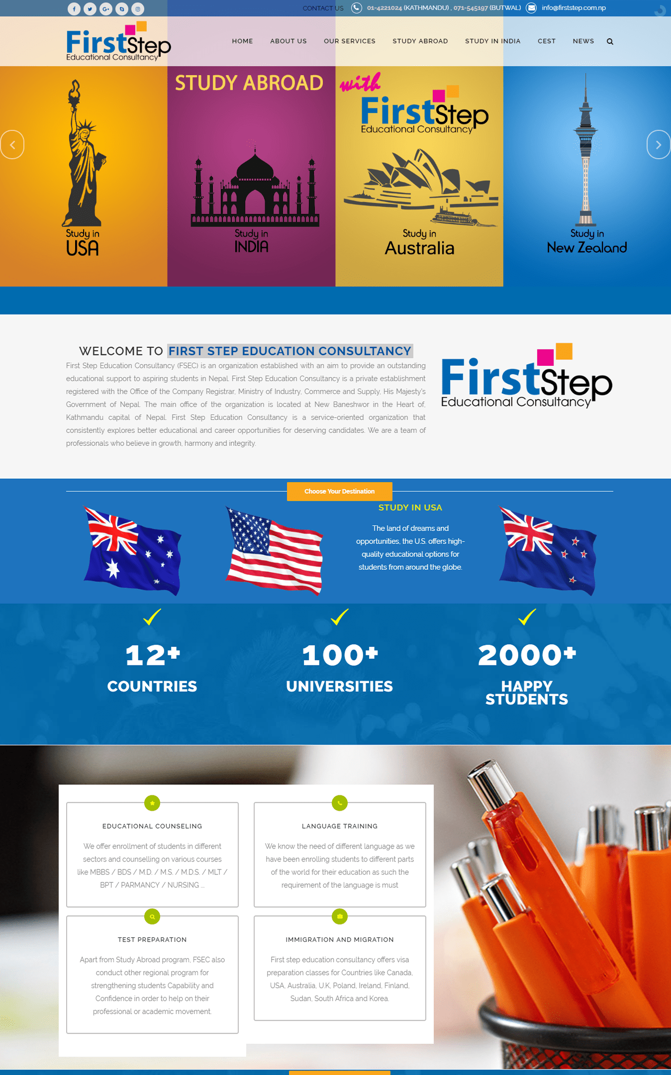 First Step Education Consultancy